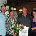 Gästeehrung 20 Jahre Fam. Rieck