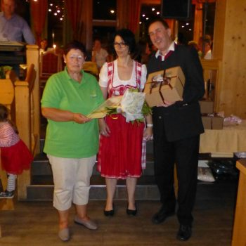 Gästeehrung 20 Jahre Frau Falkenstein