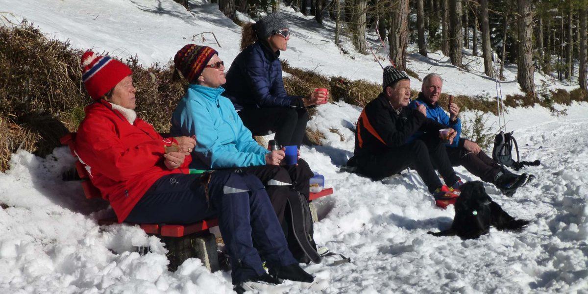 Jause Winterwandern