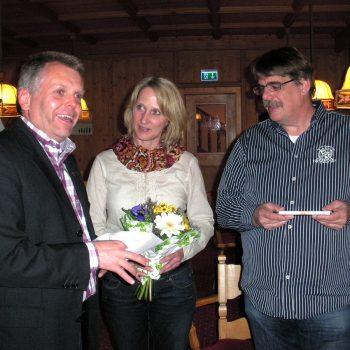 Gästeehrung 10 Jahre Fam. Kausemann