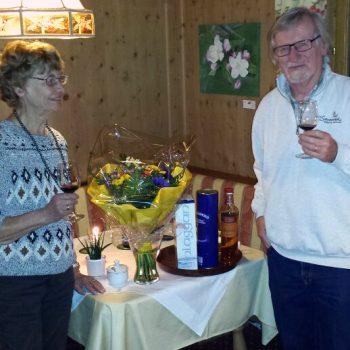 Gästeehrung 25 Jahre Fam. Lorenz